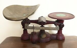 Rare Antique Type 17 Serial H Chatillon Candy Scale Scales Vintage
