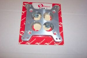 Flathead y block Offy Adapter Std 4 Brl Carb On Small 4 b Base Tapered Ports