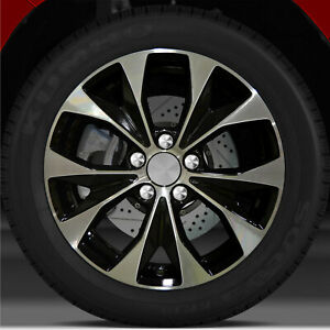 17x7 Factory Wheel Black For 2012 2013 Honda Civic