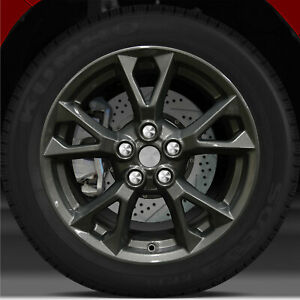 18x8 Factory Wheel dark Sparkle Charcoal For 2012 2015 Nissan Maxima