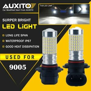 Auxito 2x 9005 Daytime Running Light Led High Beam 2800lm Fog Light Bulb Eoa