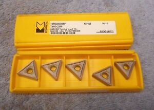 Kennametal Carbide Inserts Tnmg 433 Rp Grade Kcp25b Pack Of 5