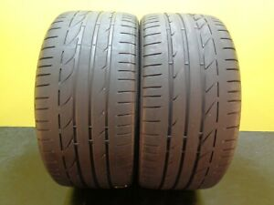 2 Tires Bridgestone Potenza S001 Run Flat 255 35 19 92y 50 Life 23748