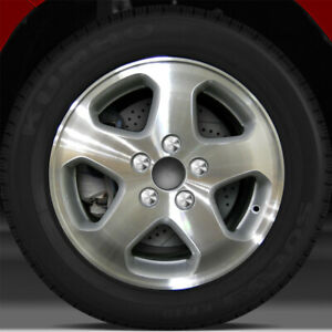 16x6 5 Factory Wheel fine Metallic Silver For 1998 2000 Honda Accord