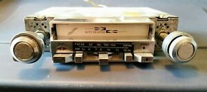 Sutura Ss 200 Am Fm Cassette Stereo Car Radio Tuner Reciever Vintage