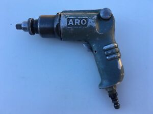 Aro Pneumatic Air Gun Impact Hand Held 3 8 Drive With Snap On Frs 70 Tip