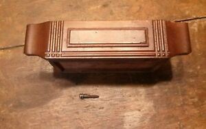 Rare Center Drawer Off Antique 5 Drawer White Treadle Sewing Machine