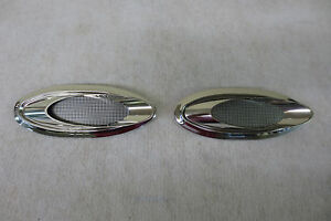 1950 s 1960 s Chevy Ford Pontiac Dummy Exhaust Ports Accessory Cruiser Skirts