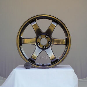 4 Rota Wheels Ffo 3 Grid 18x8 5 44 5x114 3 360 Degree Flow Forged 19 5 Lbs