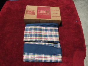 Nos 1950 1951 Ford Tudor Or 5 Passenger Coupe Rear Seat Covers Genuine Accessory