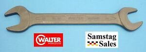 Carl Walter Germany 24mm X 26mm Thin Metric Double Open End Wrench 100ph 24x26
