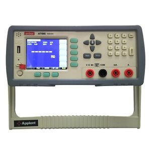 Bench Multimeter 10uv 10na Resolution 60000counts Dc ac Ohm Diode Tft Lcd Rs232