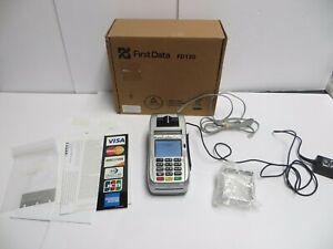 First Data Fd130 Terminal Point Of Sale Pos Credit Card Machine