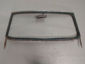 Triumph Tr4 Original Windshield Windscreen Frame Surround Oem
