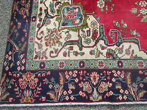 9 1 X 12 1 Weaver Signed Old Persian Oriental Room Size Rug Carpet Bargain