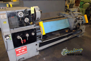 16 25 X 60 Used Summit Gap Bed Engine Lathe 16x60b A4429