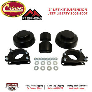 Rt21050 Crown Automotive Rt Off road 2 Lift Kit Suspension For Jeep Liberty