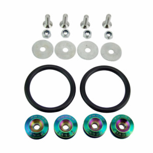 Neochrome Password Jdm Bumper Quick Release Kit Usa Seller Fast Shipping Pwjdm