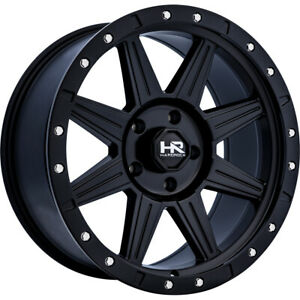 20x9 Black Hr100 6x5 5 0 Wheels Open Country A T Ii 275 60 20 Tires