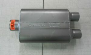 sale Flowmaster 40 Series 3 Center Inlet 2 5 Dual Out 13 Long 9 75 Wide