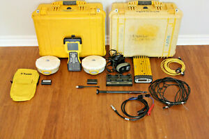 Trimble Dual 5800 L1 L2 Gps Rtk Base Rover Survey Setup 450 470mhz W Tm3 Tsc2