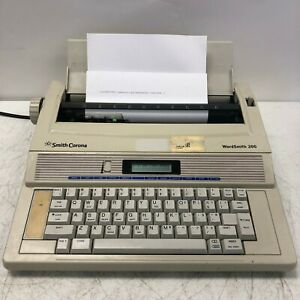 Smith Corona Word Smith 200 Typewriter Tested And Working Light Wear