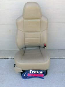 2002 Ford F 250 f 350 Superduty Lariat Passenger Front Seat Leather Power