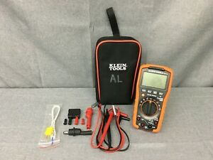 Used Klein Tools Mm7000 True Rms Ip42 Auto Ranging Digital Multimeter