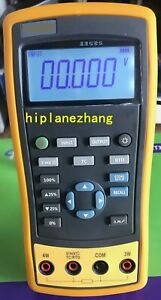 Hi accuracy 0 05 Thermocouple Rtd Temperature Calibrator 8tc 4rtd Source 1810
