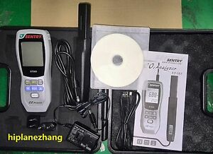 Carbon Dioxide Co2 Detector Analyzer 9999ppm Humidity Temperature Meter 3in1 Usb