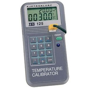 Temperature Calibrator K J E T R S N L U B C Thermocouple Auto Ramp T Function