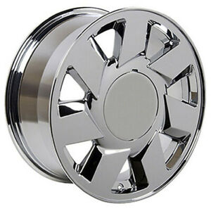 Chrome Wheel 17x7 5 For 1994 2005 Cadillac Deville Owh0137