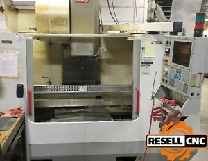 2000 Haas Vf 4 Cnc Vertical Mill W Haas Hrt210 Rotary Table