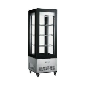 Floor Standing Glass Sided Display Cooler All Glass Merchandiser
