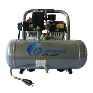 California Air Tools 1650a Ultra Quiet Oil free Air Compressor Used