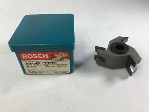 Bosch 87903 Carbide Tipped Shaper Cutter Wedge Tongue New Old Stock