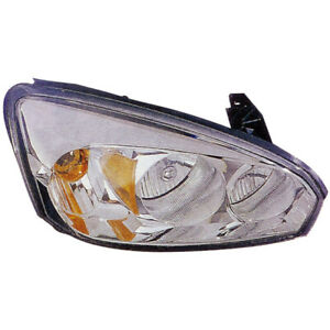 Right Side Headlight Assembly For Chevy Malibu 2004 2005 2006 2007