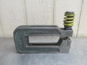 Unipunch 8a2 Punch Press C frame Die Set Shoe 8 Throat 2 Wide