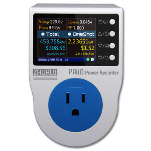 Pr10 e Us Plug Power Watt Meter Socket energy Meter Kwh Electricity Meter