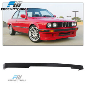 Fits 84 92 Bmw E30 Oe Mtech Style Front Lip Spoiler Lower Valance Unpainted