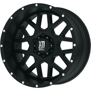 18x9 Black Xd Xd820 6x5 5 12 Wheels Toyo Open Country A T Ii P275 65r18 Tires