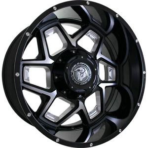 22x12 Black Machined Do3 6x135 6x5 5 44 Rims Country Hunter Mt 35 Tires