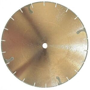 10 Electroplated Diamond Blade For Marble Engineered Stone And Travertine
