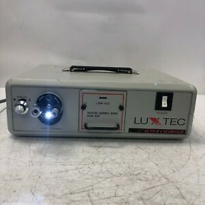Luxtec Model 9300 Light Source Super Charged Tested And Working