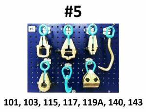 Heavy Duty Auto Body Frame Machine Pulling Tools And Clamps Set Mega Pack