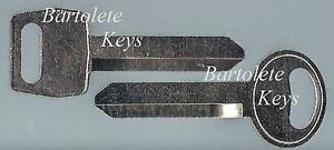 Replacement Key Blank Fits 1981 1982 1983 1984 1985 1986 1987 1988 Ford Cobra
