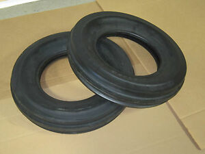 2 New 6 50 16 Tri Tread Front Tires Tubeless Farmall 756 650 16 6 50x16 3 Rib