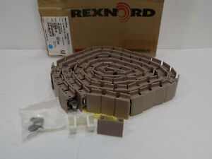 New In Box Rexnord Table Top Chain Lf1863tab 2 25 Inch 10 Foot 81409852