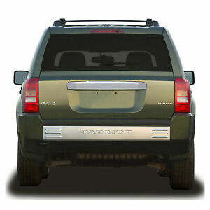 Premium Fx Chrome Rear Door Molding Cover W O Keyhole For 2007 2013 Jeep Patriot
