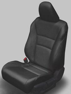 2013 2014 2015 2016 2017 Honda Accord Lx Sedan Black Katzkin Leather Kit New